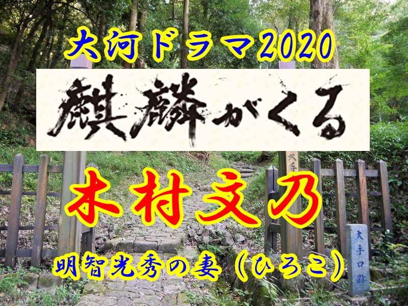 「麒麟がくる」の女性キャスト「煕子」。演じるは木村文乃