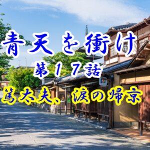 青天を衝け第17話「篤太夫、涙の帰京」のあらすじと感想。